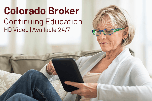 Colorado Broker Continuing Education Courses